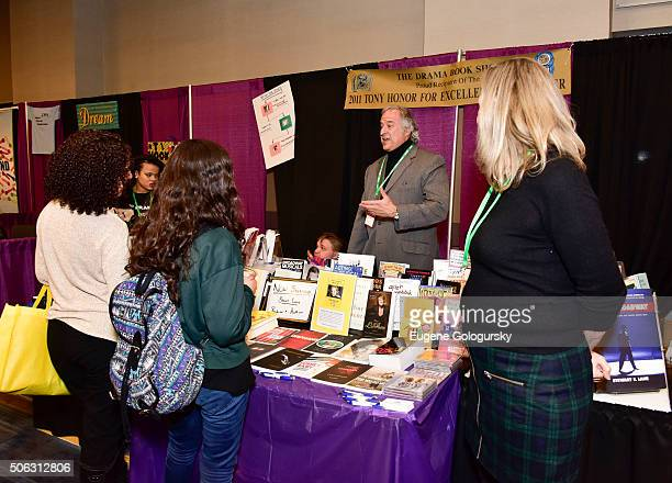 """Stewart F. Lane attends the Stewart F. Lane Book Signing Of """"Black Broadway"""" At BroadwayCon at New York Hilton on January 22, 2016 in New York City."""