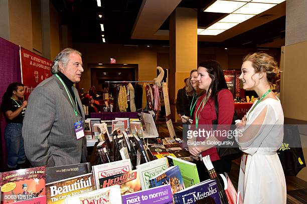 Stewart F Lane attends the Stewart F Lane Book Signing Of 'Black Broadway' At BroadwayCon at New York Hilton on January 22 2016 in New York City