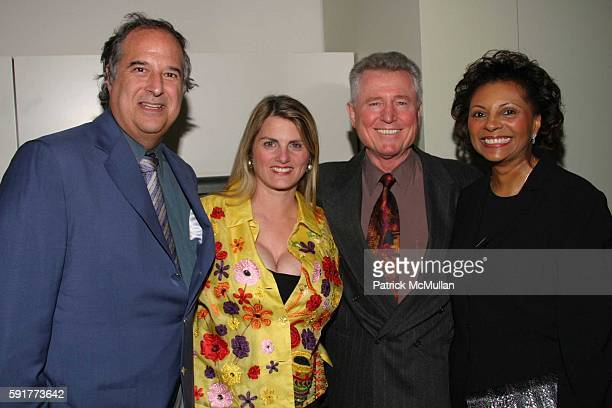 Stewart F Lane Bonnie Comley Grahame Pratt and Leslie Uggams attend A Centennial Celebration for Harold Arlen at The Museum of Television and Radio...