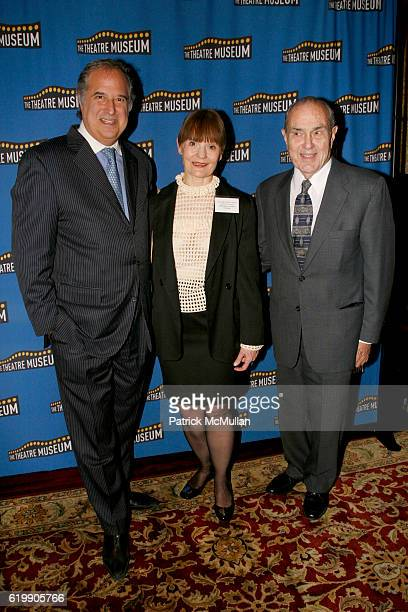 Stewart F Lane Helen Marie Guditis and Dr Stanley Cohen attend THE THEATRE MUSEUM Awards Gala 2008 at The Players on October 21 2008 in New York City