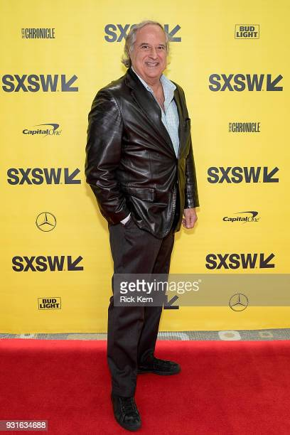 Stewart F Lane President of BroadwayHD attends the panel 'Keeping Performing Arts Alive in a Digital World' during SXSW at the Austin Convention...