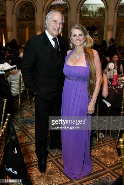 Stewart F.Lane and Bonnie Comley attend the The 36th Annual Drama League Benefit Gala at The Plaza Hotel on October 28, 2019 in New York City.