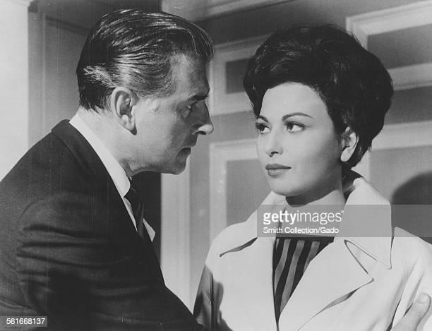 Stewart Granger and Haya Hareet 1962