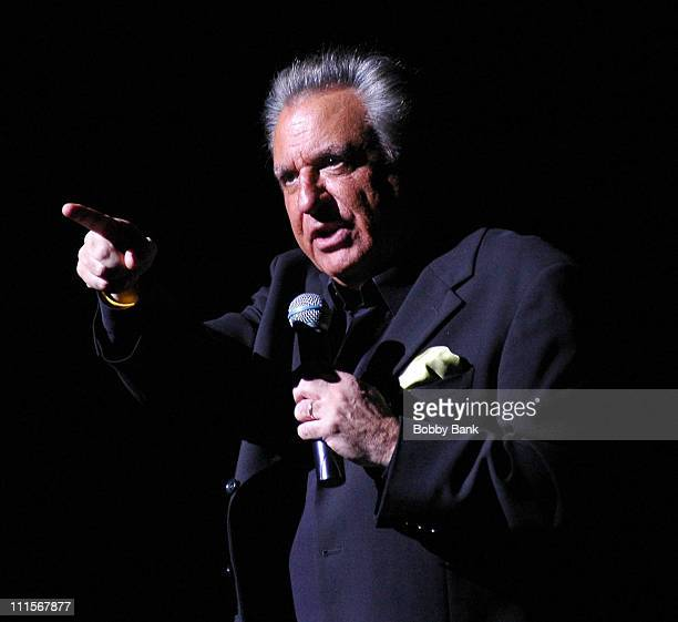 Stewie Stone during Frankie Valli & The Four Seasons Perform at Rose Theater - New York City - November 25, 2006 at Rose Theater in New York City,...