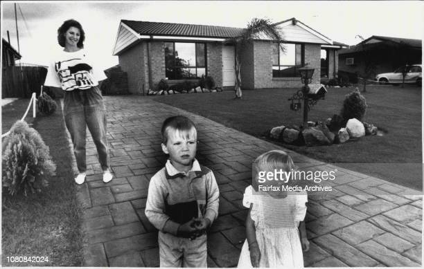 Sth Werrington in the Western SuburbsLeanne Rudd and Michael and Amanda 1½ November 10 1987