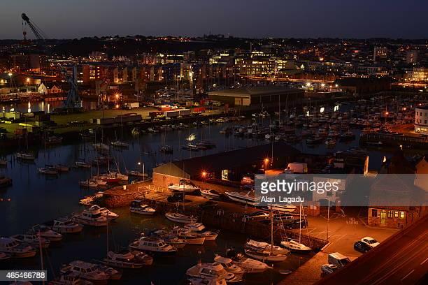 St.Helier harbour, Jersey, U. K.
