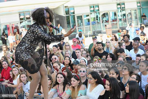 Stichiz performs at the Y100's Jingle Ball 2016 PRE SHOW at BBT Center on December 18 2016 in Sunrise Florida