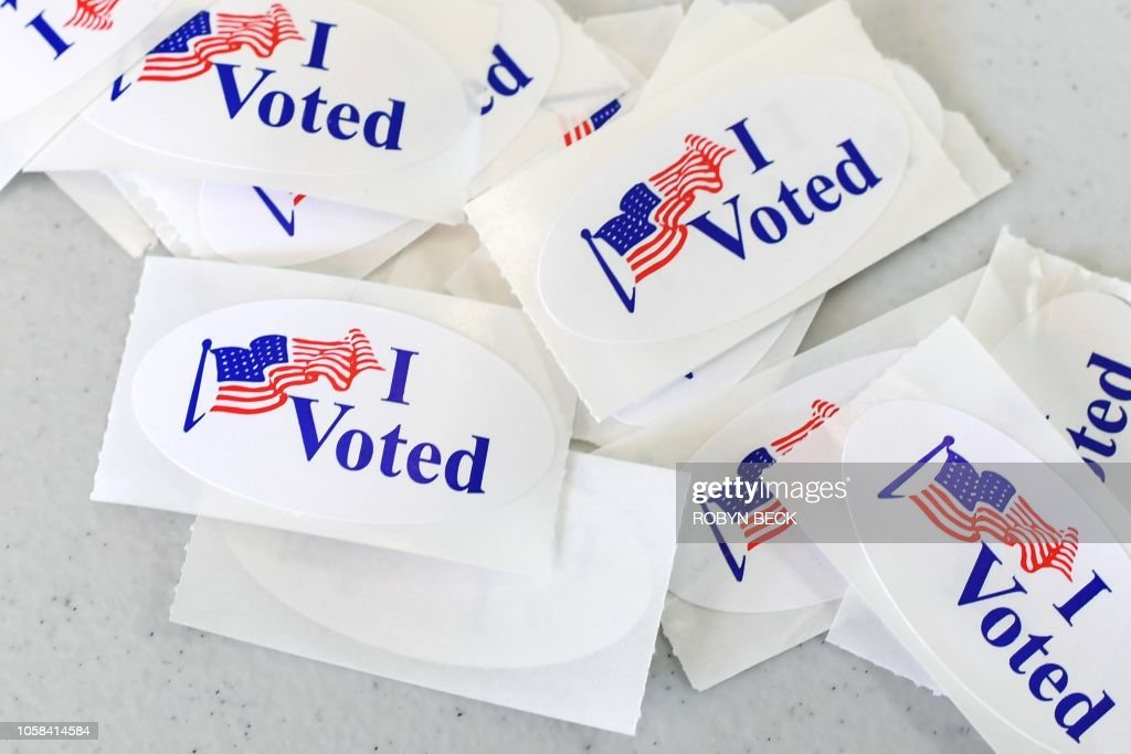 US-POLITICS-ELECTION-VOTE : News Photo