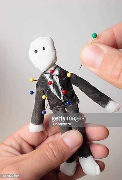 Sticking it to The Man, voodoo doll style