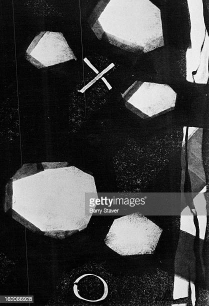 MAR 12 1974 MAR 14 1974 MAR 17 1974 Sticks and Bones a monoprint by Howard Deffner is part of the young artist's show at the Littledale