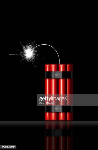 sticks of dynamite - dynamite stock pictures, royalty-free photos & images