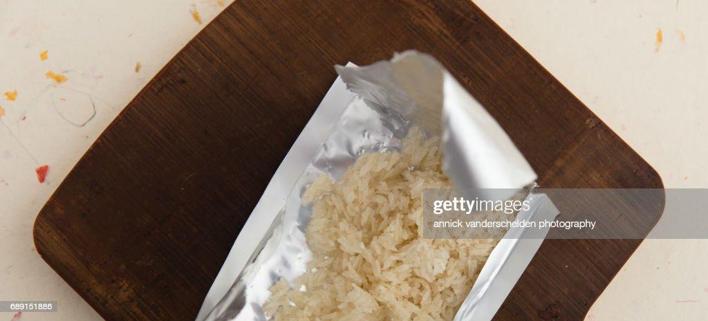 Sticky rice. : Stock Photo
