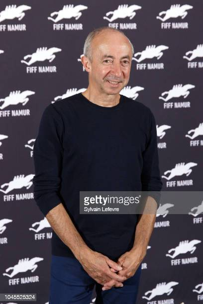 Stijn Coninx attends photocall for the film 'Niet Schieten' during 33rd Namur International FrenchLanguage Film Festival FIFF on October 4 2018 in...