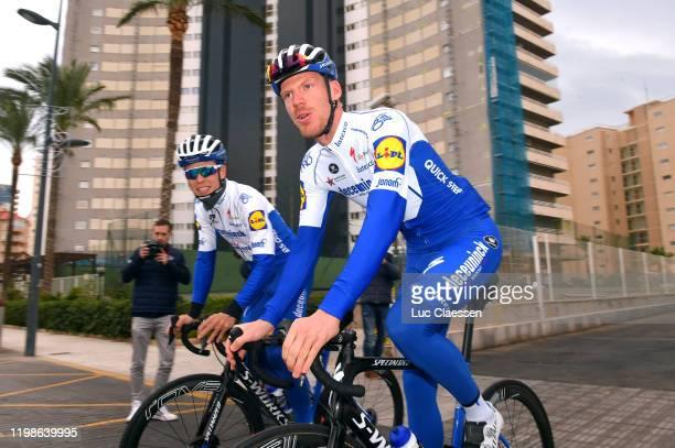 Stijn Steels of Belgium and Deceuninck - Quick-Step Team / Tim Declercq of Belgium and Deceuninck - Quick-Step Team / S-Works Specialized Bike /...