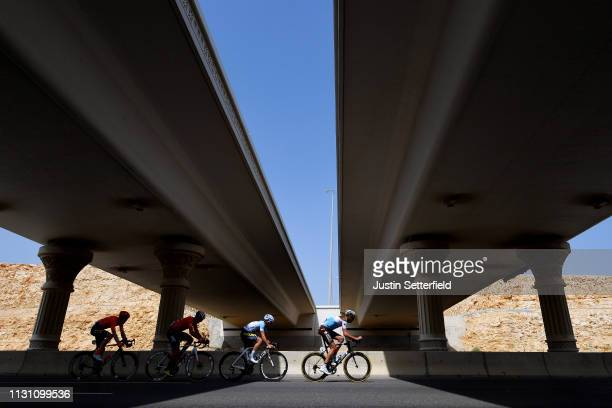 Stijn Vandenbergh of Belgium and Team AG2R La Mondiale / Alexis Guerin of France and Delko Marseille Provence / Nathan Van Hooydonck of Belgium and...