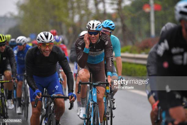 Stijn Vandenbergh of Belgium and Team Ag2R La Mondiale / during the 2nd Tour of Guangxi 2018, Stage 6 a 169km stage from Guilin to Guilin / Gree -...