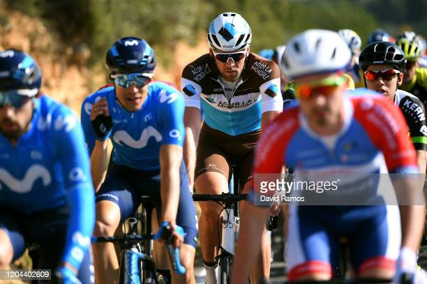 Stijn Vandenbergh of Belgium and Team Ag2R La Mondiale / during the 71st Volta a la Comunitat Valenciana 2020, Stage 2 a 181km stage from Torrent to...