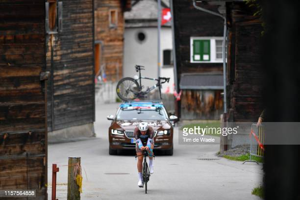 Stijn Vandenbergh of Belgium and Team AG2R La Mondiale / during the 83rd Tour of Switzerland, Stage 8 a 19,2km Individual Time Trial stage from...