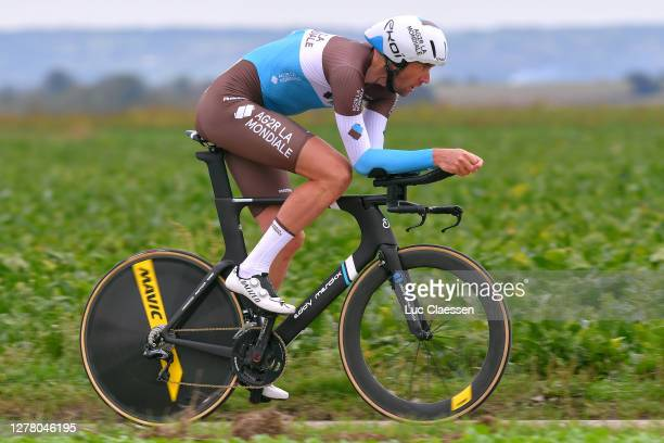 Stijn Vandenbergh of Belgium and Team Ag2R La Mondiale / during the 16th BinckBank Tour 2020, Stage 4 a 8,14km Individual Time Trial from Riemst to...