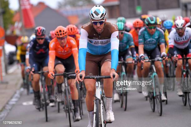 Stijn Vandenbergh of Belgium and Team Ag2R La Mondiale / during the 82nd Gent-Wevelgem In Flanders Fields 2020, Men Elite a 232,5km race from Ypres...