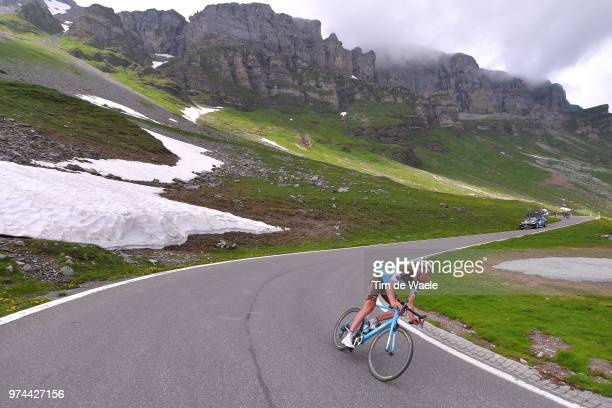 Stijn Vandenbergh of Belgium and Team AG2R La Mondiale / Klausenpass / during the 82nd Tour of Switzerland 2018 / Stage 6 a 186km from Fiesch to...