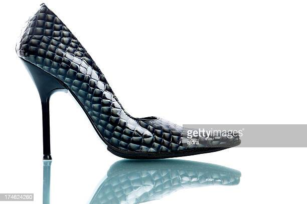 stiletto crock - stiletto stock pictures, royalty-free photos & images