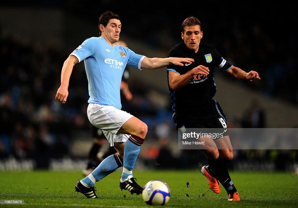 Manchester City v Aston Villa - FA Cup Fifth Round : News Photo