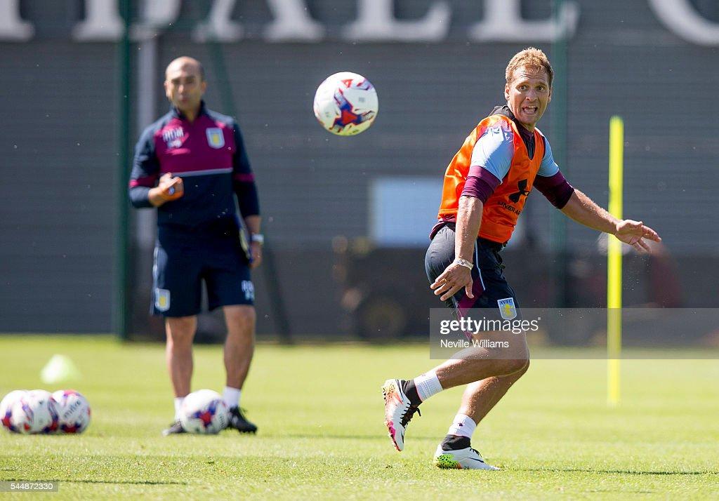 Aston Villa Training Session