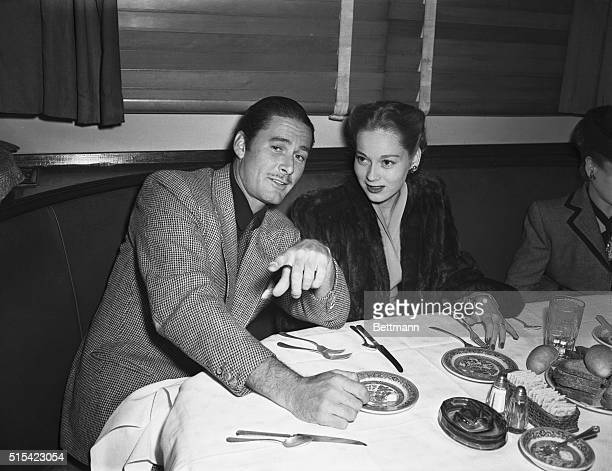 Still Denying Los Angeles Calif Errol Flynn who persistently denmied that he and former cigarette girl Nora Eddington were married is now denying...