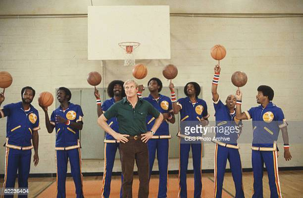 Still from the CBS dramatic television series the White Shadow' shows American actor Ken Howard as he stands with arms akimbo before very special...