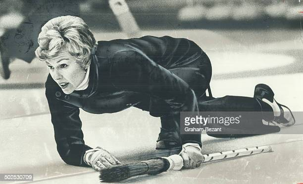 Still in contention Humber Highland skip Elsie Gaziuk batted 500 in her two matches in Ontario women's curling championship at Board of Trade Her...