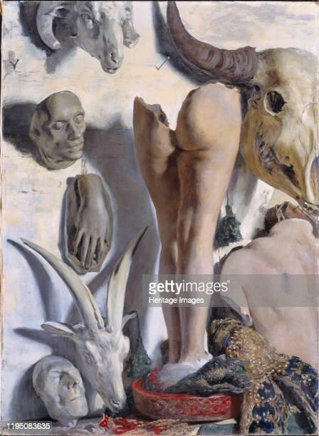 Still Life, 1940. Found in the Collection of Palazzo Fortuny, Musei Civici di Venezia. Artist Fortuny y Madrazo, Mariano .