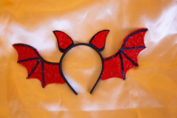 Still life Bat Ear headband ready for Halloween