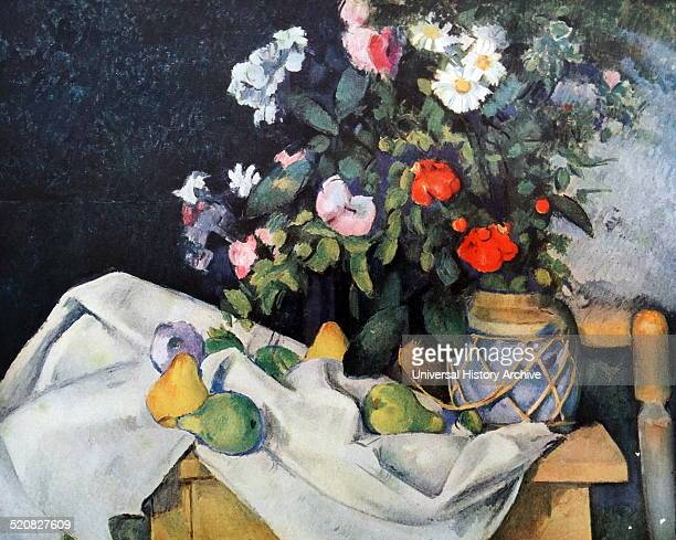 Still life by Paul Cézanne French artist and PostImpressionist painter Dated 1889