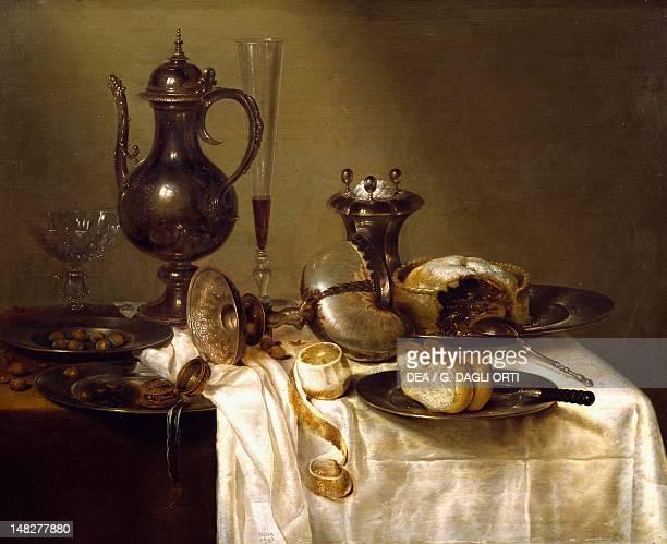 Still life by Willem Claesz Heda SaintEtienne Musée D'Art Et De L'Industrie
