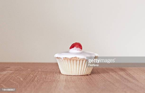 Still life of a cup cake