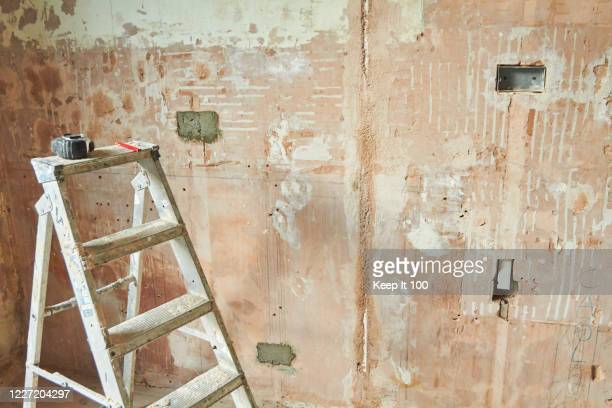 still life of a domestic renovation project - empty stock pictures, royalty-free photos & images