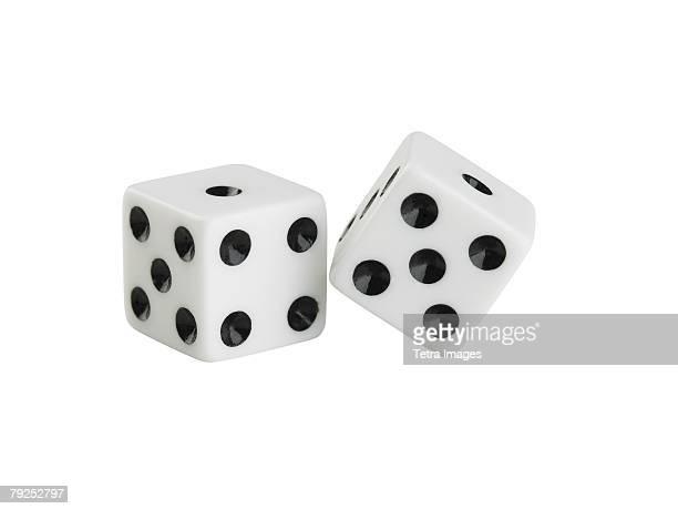 Still life of a pair of dice