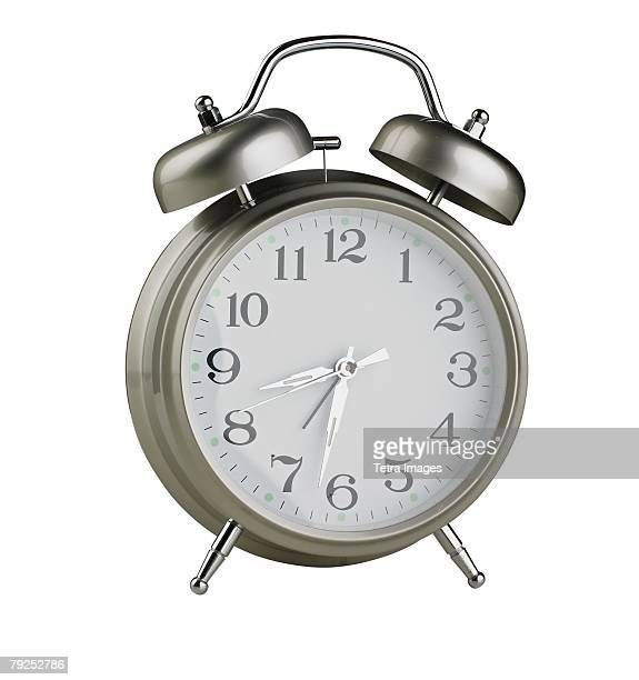 Still life of an alarm clock