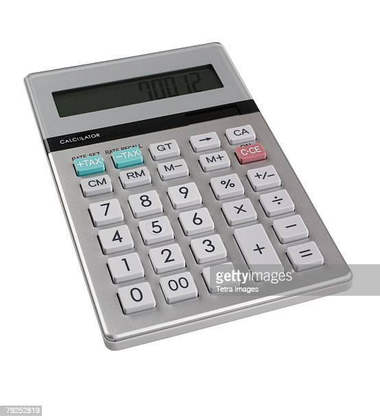 Still life of calculator