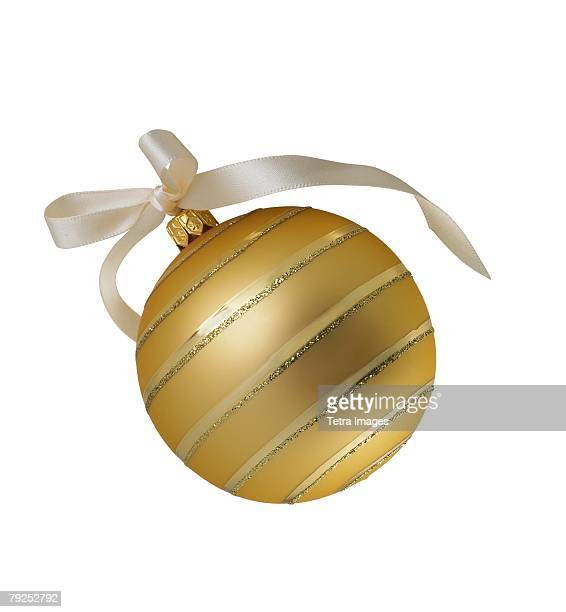 Still life of Christmas ornament