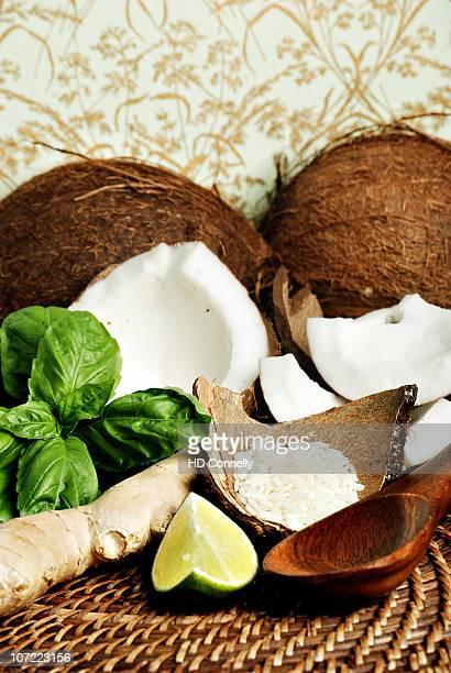 Still life of fresh ingredients