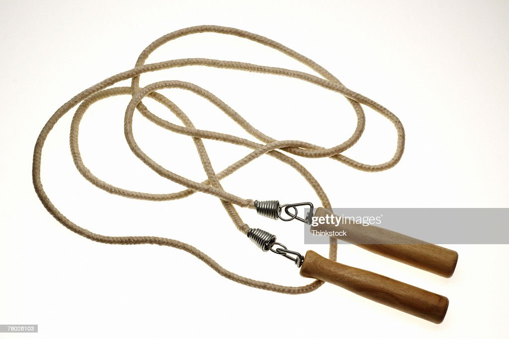 Still life of jump rope. : Stock Photo