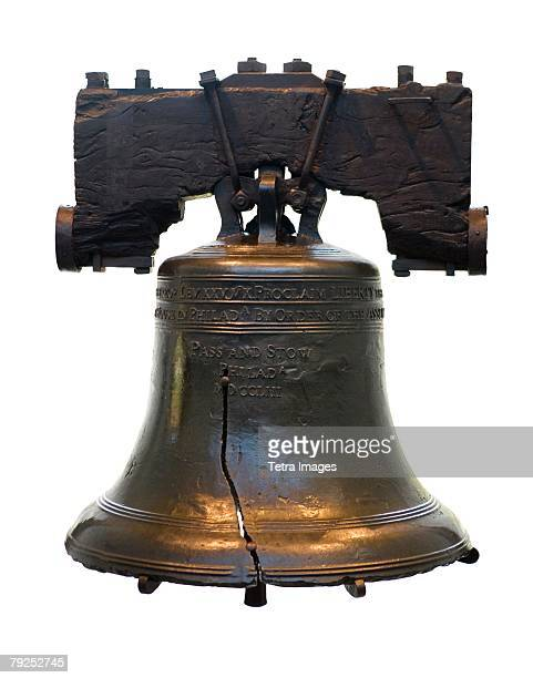 still life of liberty bell - liberty bell stock pictures, royalty-free photos & images