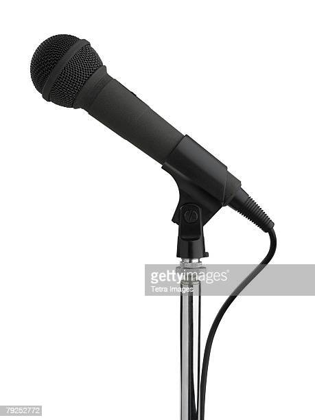 Still life of microphone