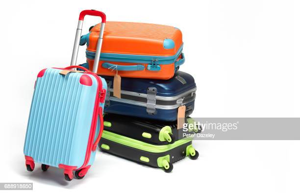 Still life of suitcases