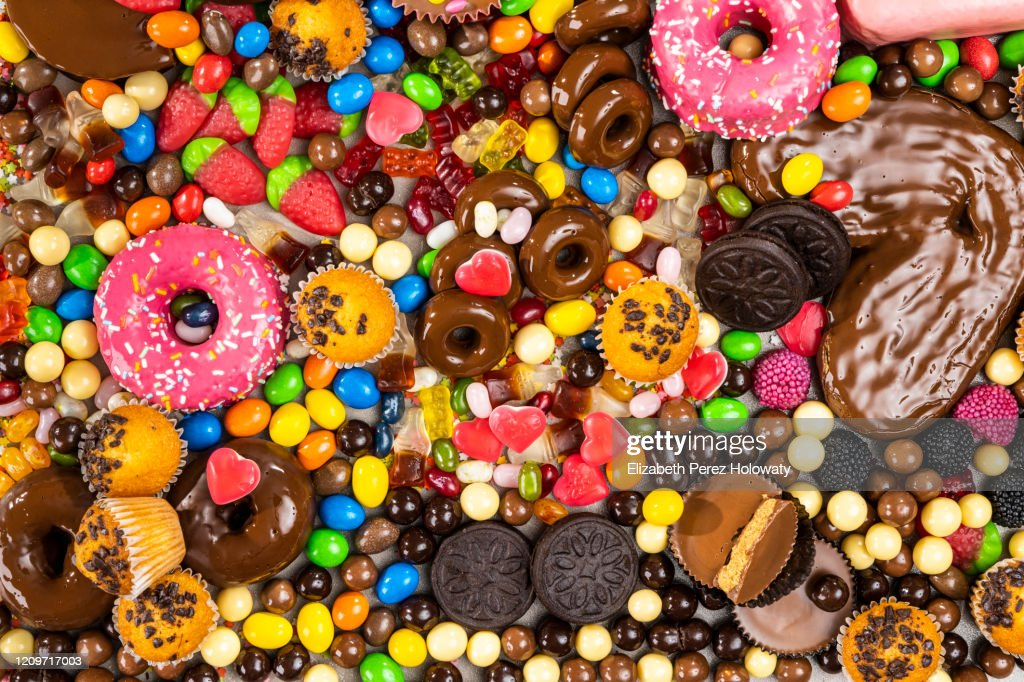 Still life of sweets and goodies : Stock Photo