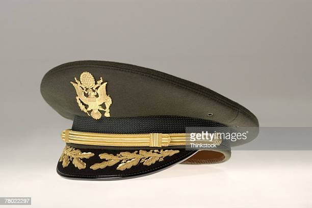 Still life of US Army Colonel Chaplain's hat