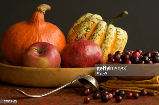 Still Life of Winter Fruits and Vegetables