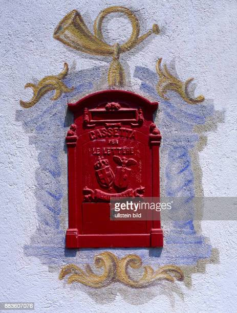 Still Life postal postbox letter letterbox old Italian mailbox